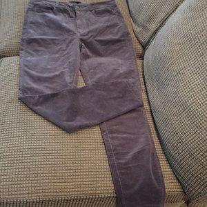 Paige Hoxton ankle corduroy jeans (sz 28)
